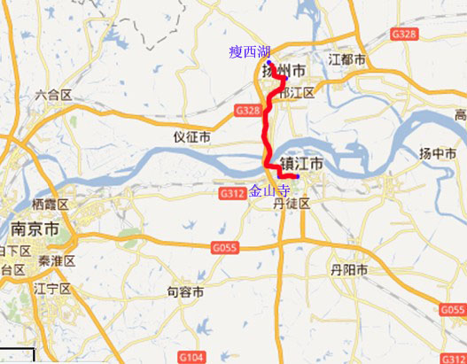 扬州,镇江 双卧5日游